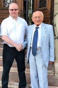 А.И. Агеев и профессор Т. Ашботом