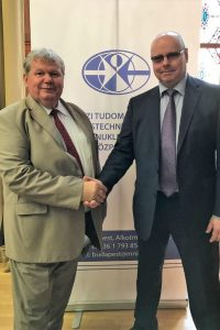 А.И. Агеев и министр по делам АЭС «Пакш» Я. Шули