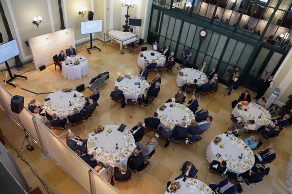 Деловой завтрак в рамках цикла «Встречи на Ильинке» с Президентом РАН